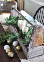 Easy winter centerpiece decoration ideas to try 26