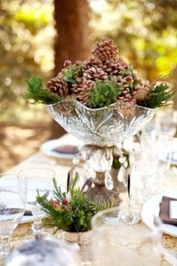 Easy winter centerpiece decoration ideas to try 39