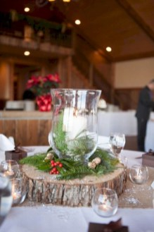 Easy winter centerpiece decoration ideas to try 48