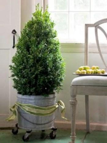 Genius ways to repurpose galvanized buckets this christmas 24