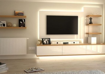55 Modern Tv Stand Design Ideas For Small Living Room Matchness Com