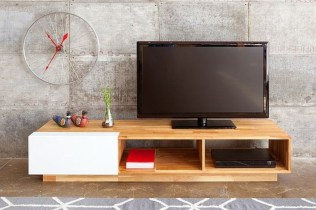 Modern tv stand design ideas for small living room 14