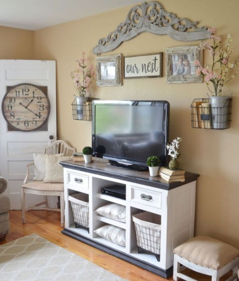 Modern tv stand design ideas for small living room 32