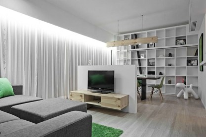 Modern tv stand design ideas for small living room 48