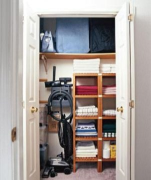 Ways to organizing your chaotic linen closet 06