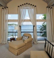 Window treatment and curtain ideas to beautify your window space 04