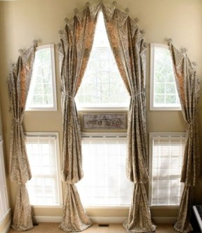 Window treatment and curtain ideas to beautify your window space 12