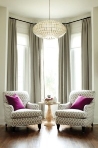 Window treatment and curtain ideas to beautify your window space 26