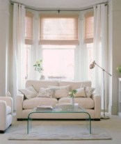 Window treatment and curtain ideas to beautify your window space 47
