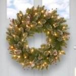 Winter christmas wreath to compliment your door 03