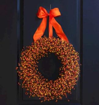 Winter christmas wreath to compliment your door 10