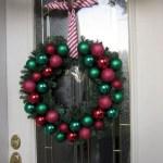 Winter christmas wreath to compliment your door 17