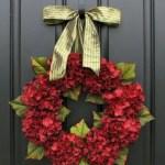 Winter christmas wreath to compliment your door 36