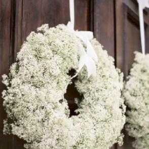 Winter christmas wreath to compliment your door 42