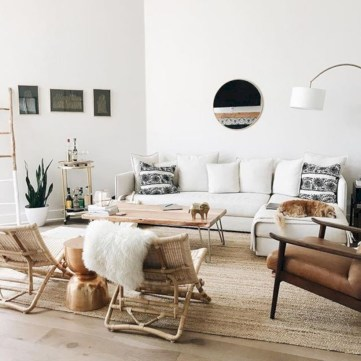 Winter hygge home decorating ideas 26