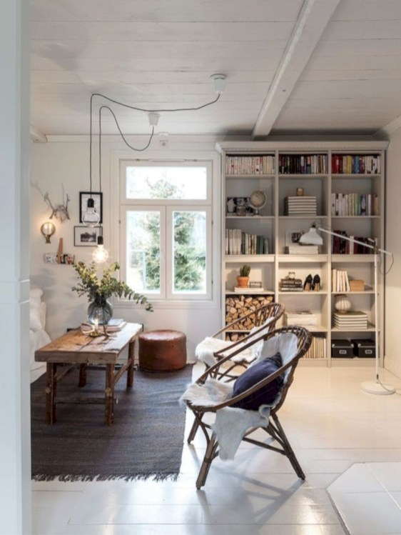 Winter hygge home decorating ideas 27