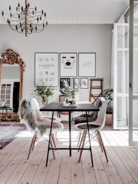 Winter hygge home decorating ideas 46
