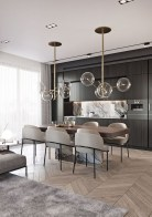 Amazing contemporary dining room decorating ideas 14