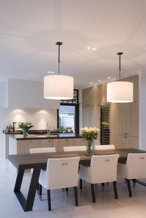 Amazing contemporary dining room decorating ideas 26