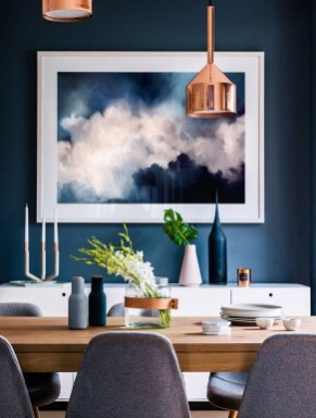 Amazing contemporary dining room decorating ideas 36