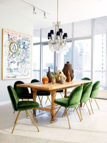 Amazing contemporary dining room decorating ideas 39