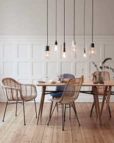 Amazing contemporary dining room decorating ideas 40