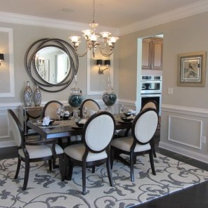 Amazing contemporary dining room decorating ideas 42