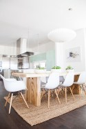 Amazing contemporary dining room decorating ideas 46
