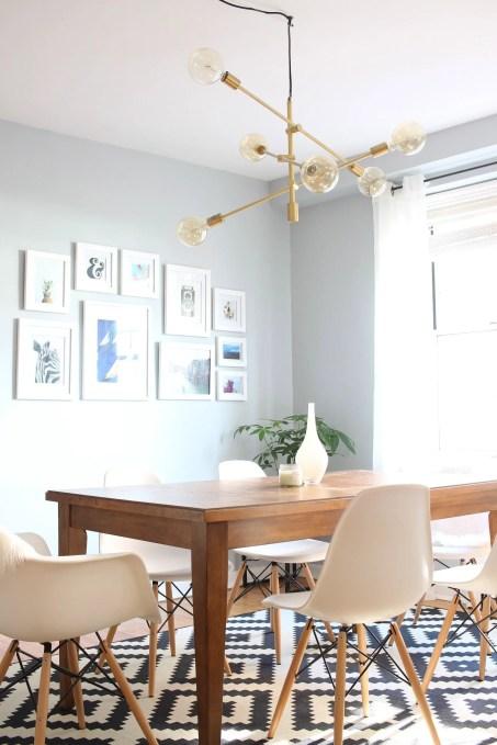 Amazing contemporary dining room decorating ideas 49