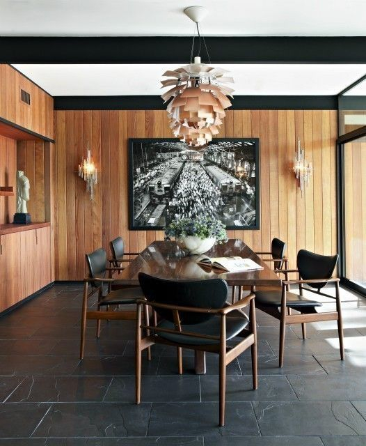 Amazing contemporary dining room decorating ideas 50