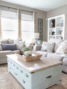 Awesome country farmhouse decor living room ideas 04
