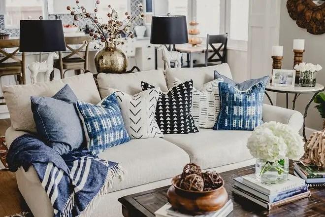 Awesome country farmhouse decor living room ideas 13