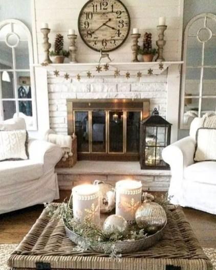 Awesome country farmhouse decor living room ideas 14
