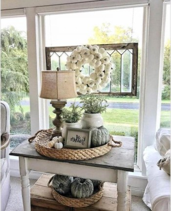 Awesome country farmhouse decor living room ideas 26