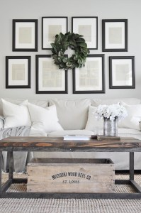 Awesome country farmhouse decor living room ideas 27
