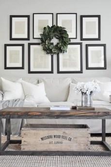 Awesome country farmhouse decor living room ideas 27