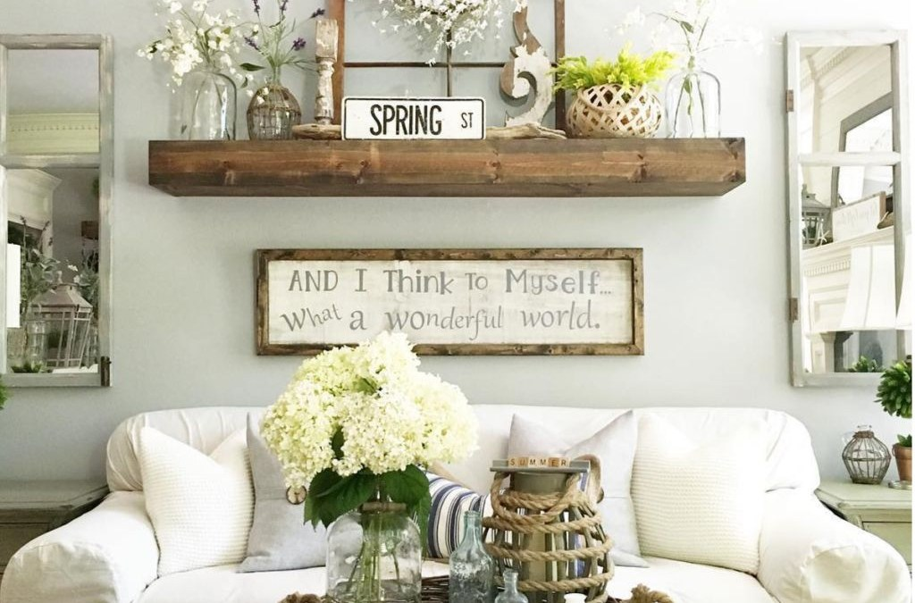 49 Awesome Country Farmhouse Decor Living Room Ideas