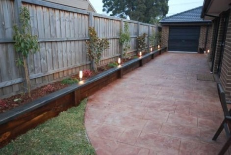 Beautiful yet functional privacy fence planter boxes ideas 28