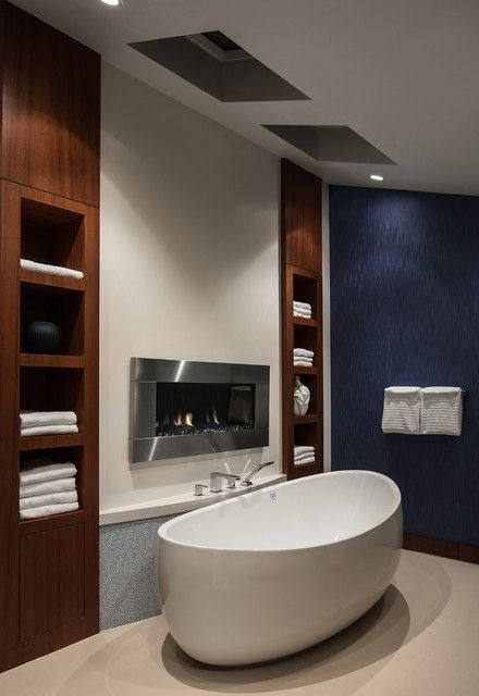 Cozy master bathroom decor ideas 03