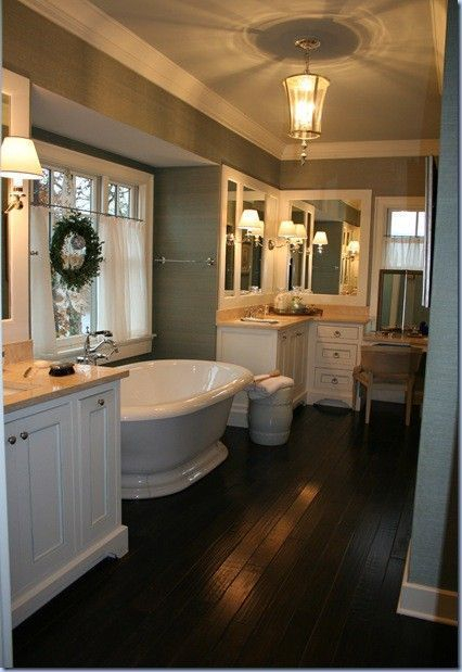 Cozy master bathroom decor ideas 06