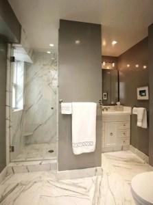 Cozy master bathroom decor ideas 07