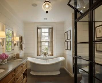 Cozy master bathroom decor ideas 10