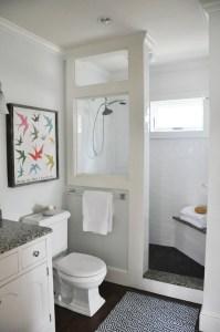 Cozy master bathroom decor ideas 22