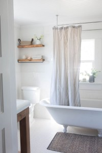 Cozy master bathroom decor ideas 30