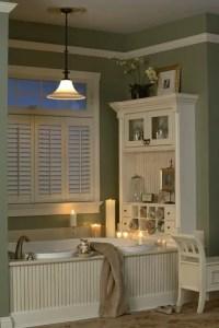 Cozy master bathroom decor ideas 32