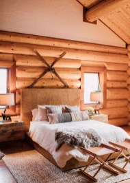 Cozy and beautiful bedroom for winter decor ideas 24