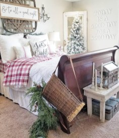 Cozy and beautiful bedroom for winter decor ideas 27