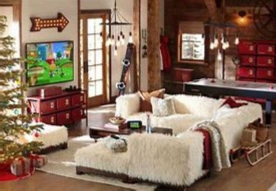 Cozy and beautiful bedroom for winter decor ideas 40