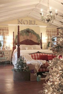 Cozy and beautiful bedroom for winter decor ideas 58