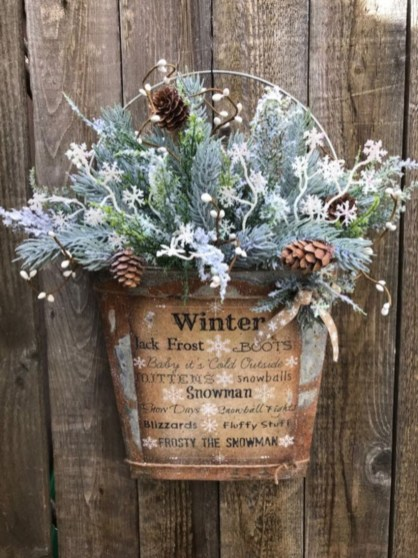 Perfect winter decoration ideas after christmas 34